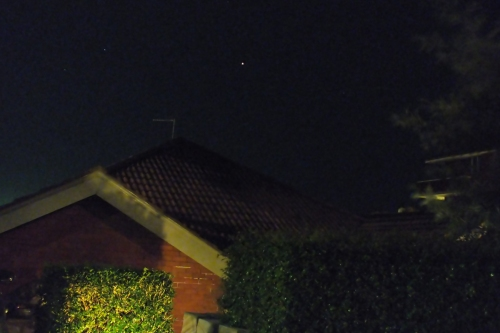 Mars on 12th March 2012
