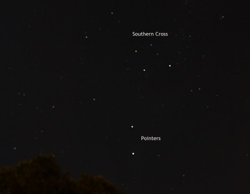 Southern Cross and Pointers